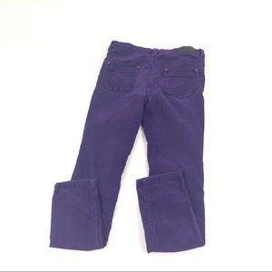 Vigoss Juniors Girls Purple Skinny Jeans Cords 14